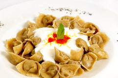 Turkish ravioli Royalty Free Stock Photo