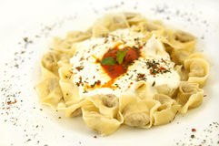 Turkish ravioli Stock Images