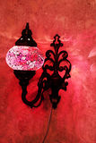 Turkish red lamp Royalty Free Stock Images