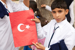 Turkish Republic Day Royalty Free Stock Photography