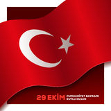 Turkish Republic day Stock Photos