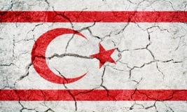 Turkish Republic of Northern Cyprus flag Royalty Free Stock Image