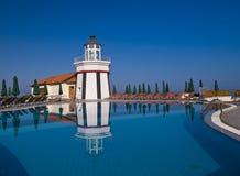 Turkish resort. Near the Aegean sea Royalty Free Stock Photo
