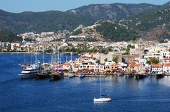 Turkish Resort Town Stock Photography