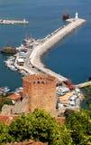 Turkish resort town of Alanya Stock Photos