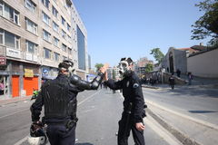 Turkish Riot Police Stock Images