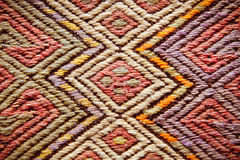 Turkish rug Royalty Free Stock Photography