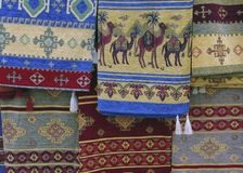 Turkish Rug Seller Royalty Free Stock Images