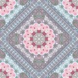 Turkish rug style seamless pattern Royalty Free Stock Photos