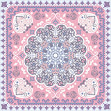 Turkish rug style seamless pattern Stock Images