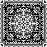 Turkish rug style seamless pattern Royalty Free Stock Photo