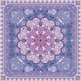 Turkish rug style seamless pattern Stock Photo
