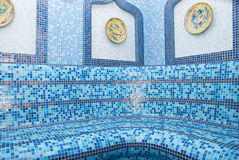 The Turkish sauna. With ceramic tile Royalty Free Stock Photography