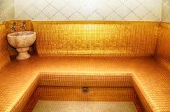 Turkish sauna, classic Turkish hammam Stock Photography