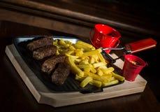 Turkish sausages Royalty Free Stock Photos