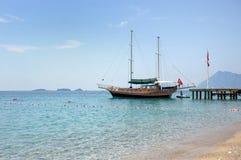 Turkish seascape Stock Images