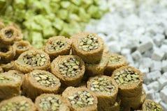 Turkish Seweets Royalty Free Stock Image
