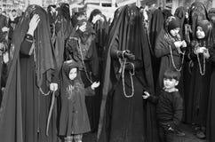 Free Turkish Shia Women Takes Part In An Ashura Parade Stock Photography - 79369732