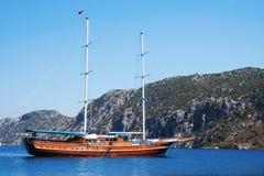 Turkish ship Stock Photography