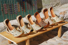 Turkish shoes Stock Images