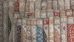Turkish silk carpets Royalty Free Stock Photography
