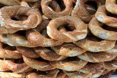 turkish simit bagel Стоковая Фотография RF