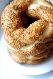 turkish simit bagels Стоковые Изображения RF