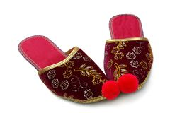 Turkish slippers Stock Photo