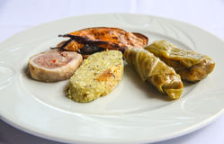 Turkish snacks Royalty Free Stock Image