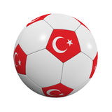 Turkish Soccer Ball Royalty Free Stock Photo