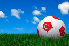 Turkish soccer ball Stock Photos