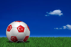 Turkish soccer ball Stock Photo