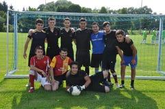 Turkish soccer team Royalty Free Stock Photo