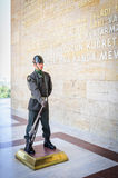Turkish soldier at entrance of Ataturk Mausoleum Stock Photography