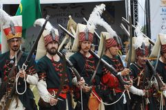 Turkish soldiers 1572 Stock Photography