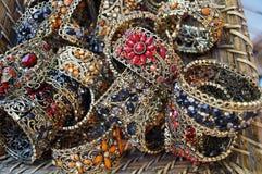 Turkish souvenir, colored braslets Stock Images