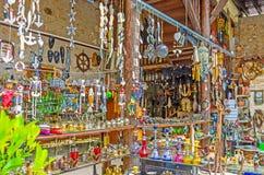The Turkish souvenir market Stock Photography