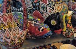 Turkish souvenirs ceramics Royalty Free Stock Image