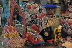 Turkish souvenirs ceramics Stock Photos