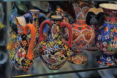 Turkish souvenirs ceramics Stock Image