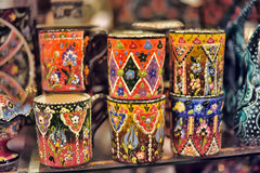 Turkish souvenirs ceramics Stock Photo