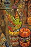 Turkish souvenirs ceramics Royalty Free Stock Photos