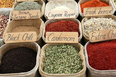 Turkish Spice Stock Images