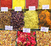 Turkish spice bazaar in istanbul Royalty Free Stock Image