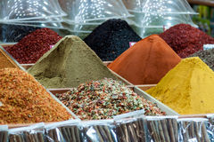 Turkish Spices Stock Images