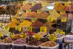 Turkish Spices Stock Image
