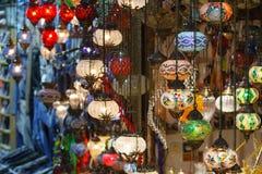 Turkish spices store bazaar market istanbul turkey Stock Images