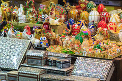 Turkish spices store bazaar market istanbul turkey Stock Photos