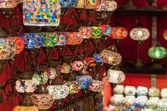 Turkish spices store bazaar market istanbul turkey Stock Image