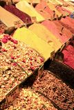 Turkish Spices & Teas Royalty Free Stock Photos
